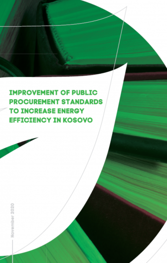 Improvement of Public Procurement Standards to Increase Energy Efficiency in Kosovo