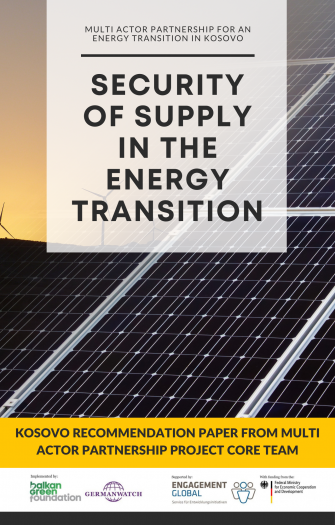 Recommendations - Security of Supply in the Energy Transition in Kosovo