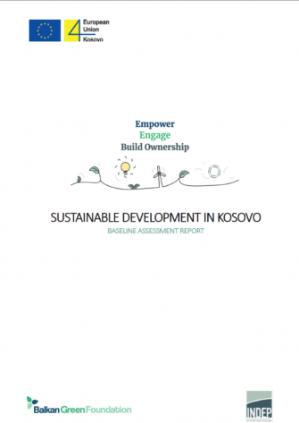 SUSTAINABLE DEVELOPMENT IN KOSOVO - A BASELINE ASSESSMENT REPORT
