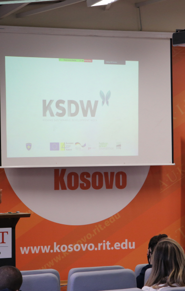 BGF holds lecture on 'Challenges and Opportunities in Kosovo for Sustainable Development' within the framework of KSDW
