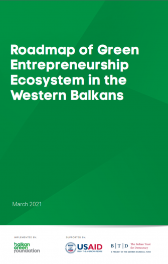 Roadmap of Green Entrepreneurship Ecosystem in Western Balkans