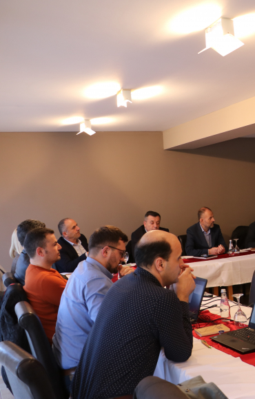 BGF brought together local stakeholders of Klina to work towards drafting a Green Action Plan